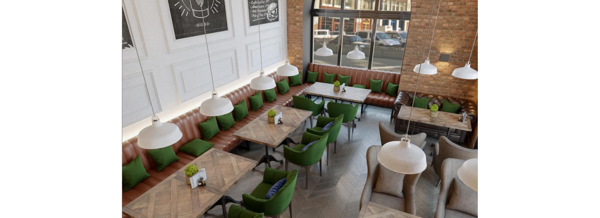 Современная мебель для ресторанов и кафе
